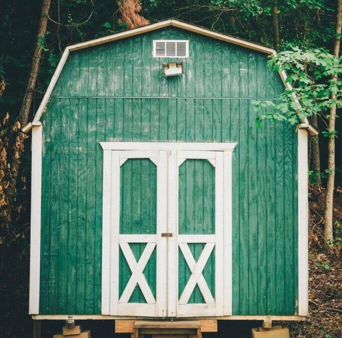Design Green Wood Shed