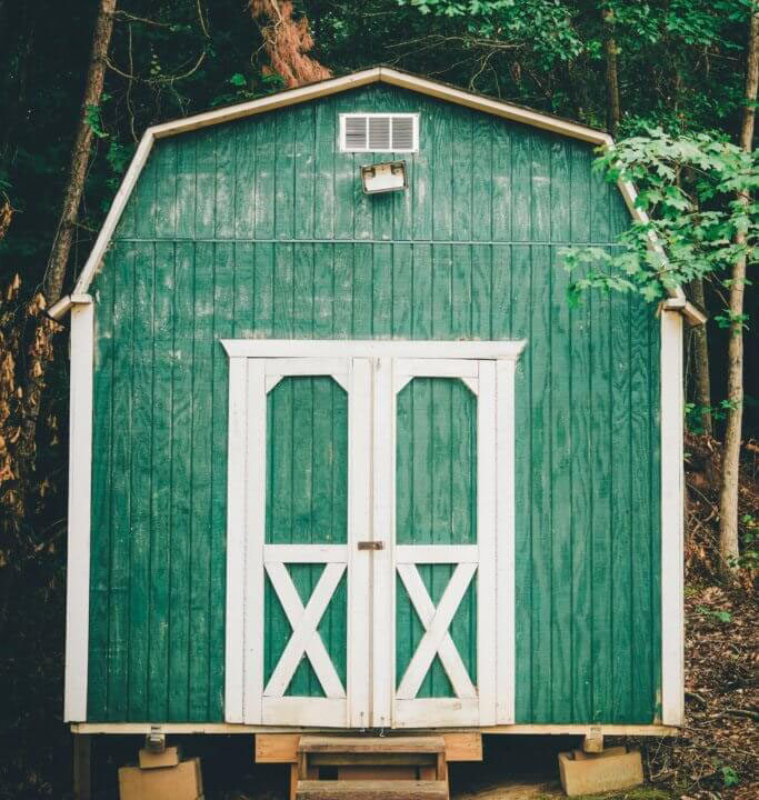 Design Green Wood Shed