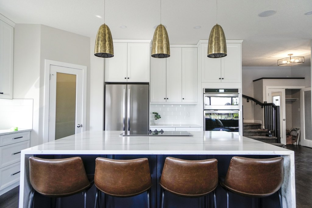 Kitchen extension layout