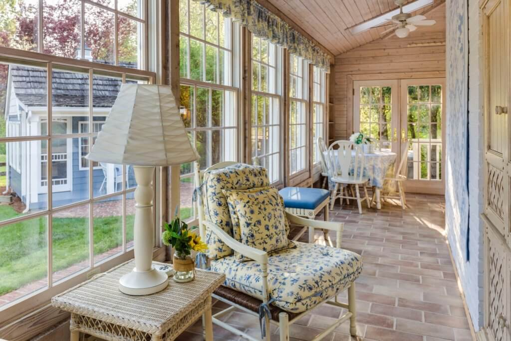 Sunroom house extension